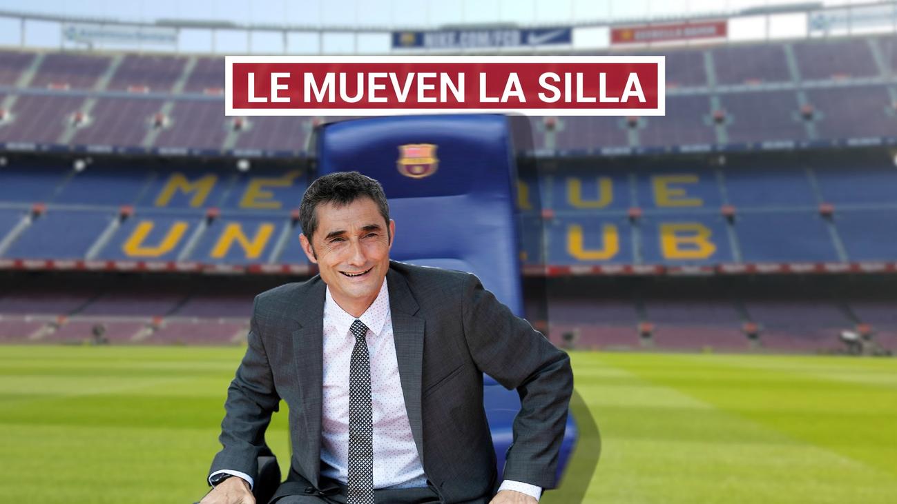 El futuro de Valverde en el Barça, en el aire