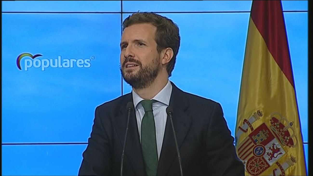 """""""No voy a liderar un PP bronco, pero tampoco ingenuo ni incauto"""", asegura Casado"""
