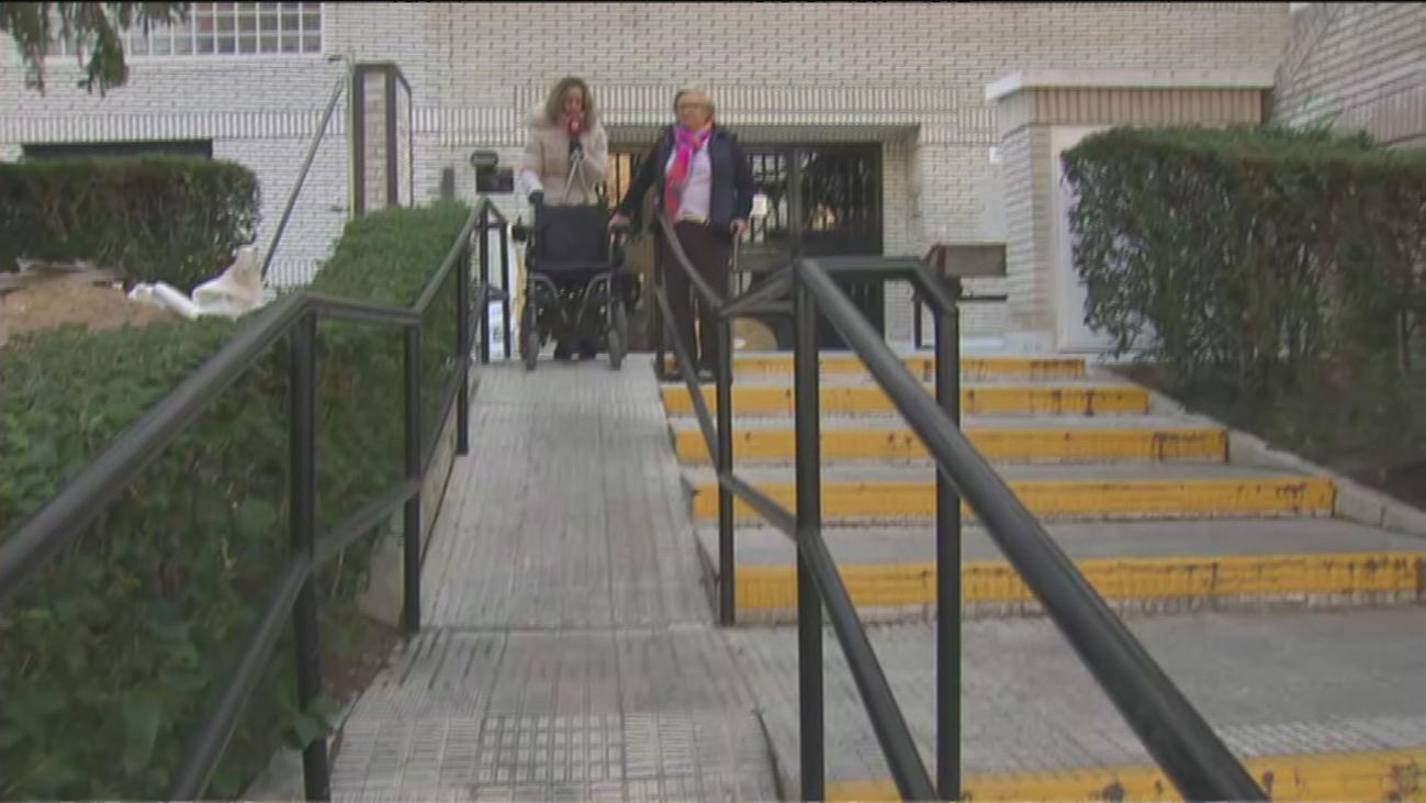 Una rampa demasiado empinada en Peñagrande no apta para las sillas de ruedas