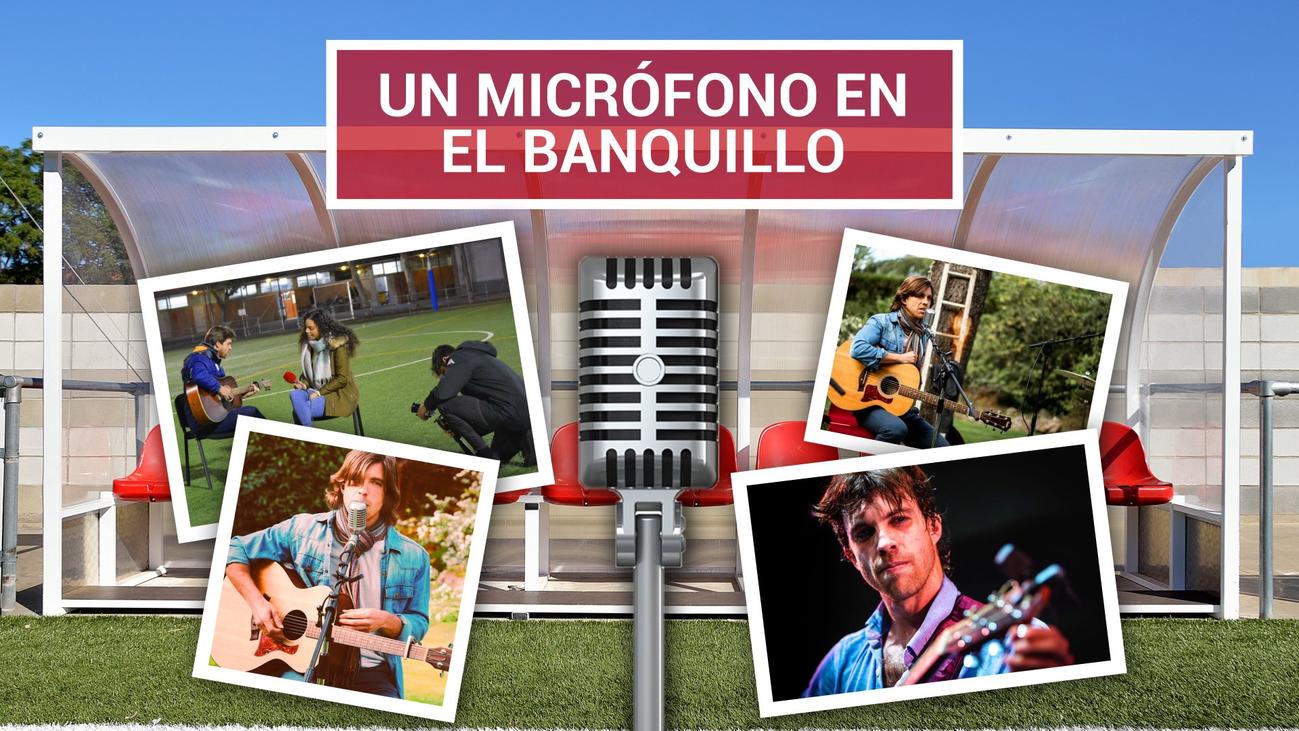 Mon Vázquez compagina sus dos pasiones, entrenar y cantar