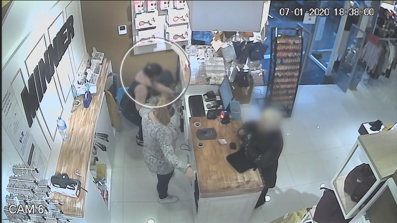 La sigilosa forma de robar de 'las dos ladronas de San Fernando'