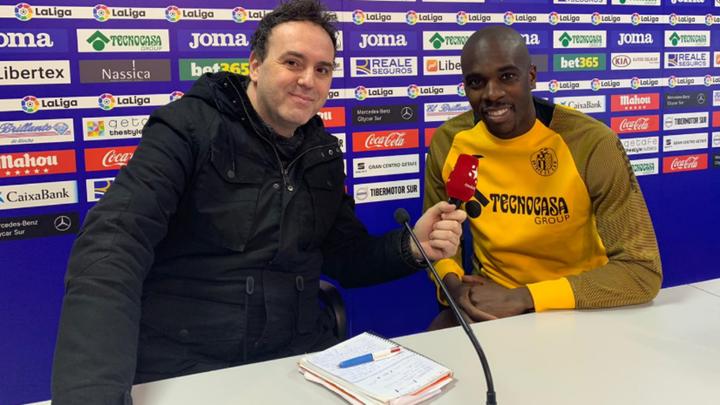 """Nyom: """"Soy feliz en Getafe y lo fui en Leganés"""""""
