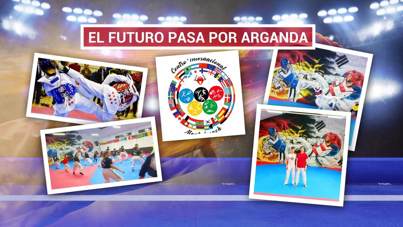 El Centro Internacional de Taekwondo de Arganda, una escuela de campeones