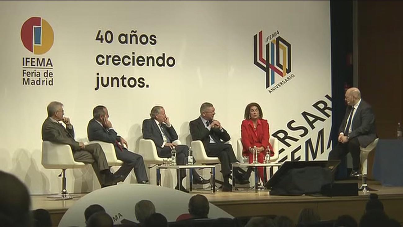 Reunión histórica de alcaldes de Madrid para celebrar el 40 aniversario de Ifema