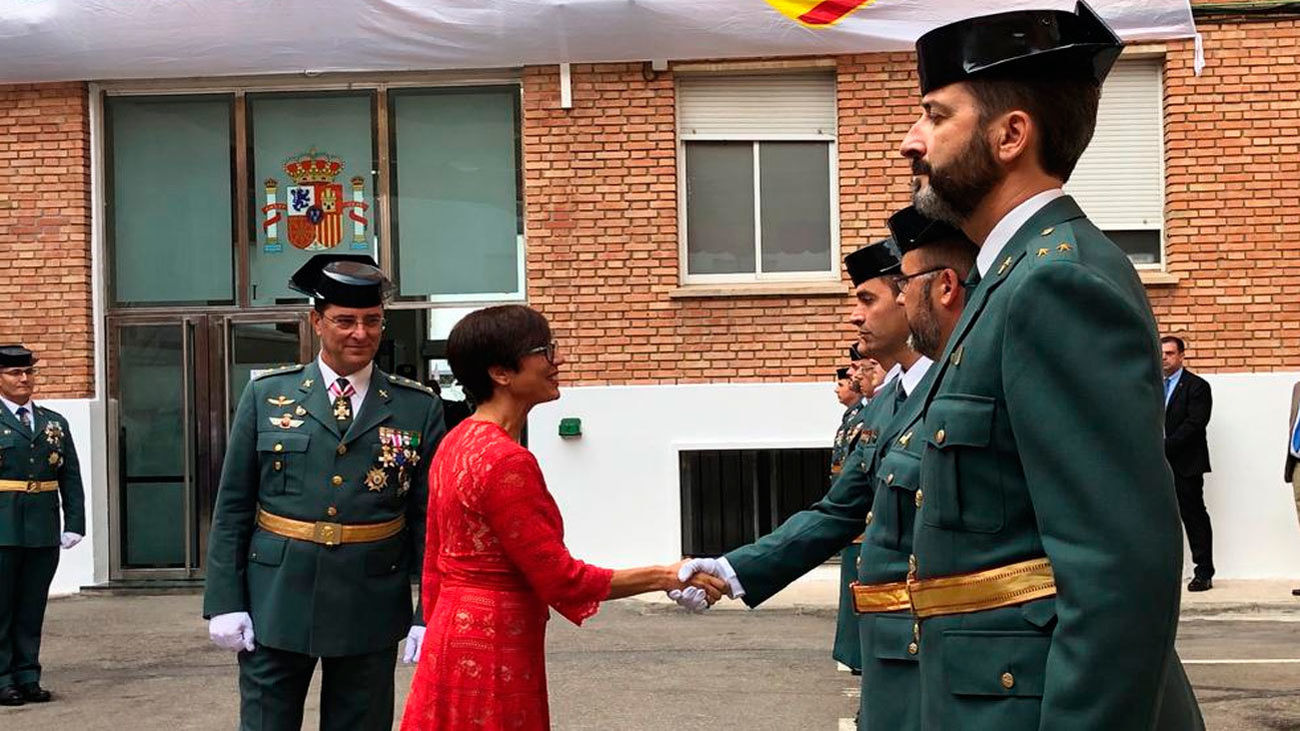 María Gámez dirigirá la Guardia Civil