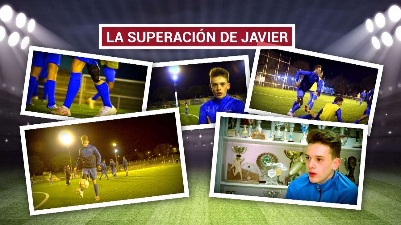 El inédito caso de Javier Mejorada, que juega al fútbol con una prótesis en la pierna
