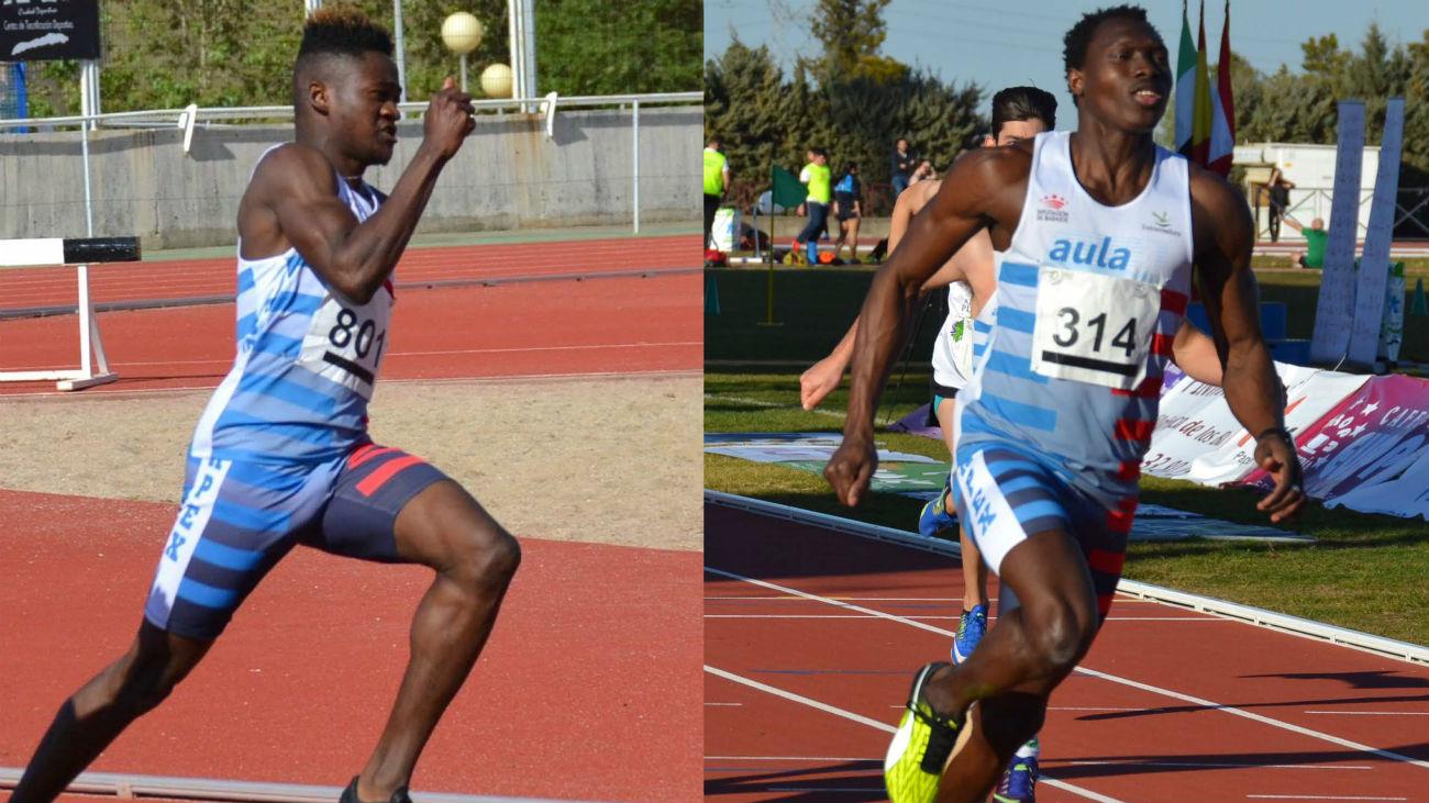 Keita y Sonko, de refugiados a atletas en Madrid