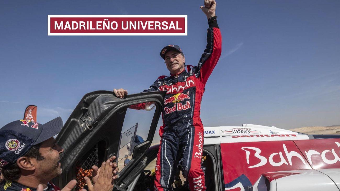 Carlos Sainz, campeón del Rally Dakar