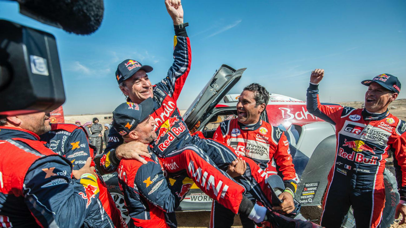 Carlos Sainz gana el Rally Dakar