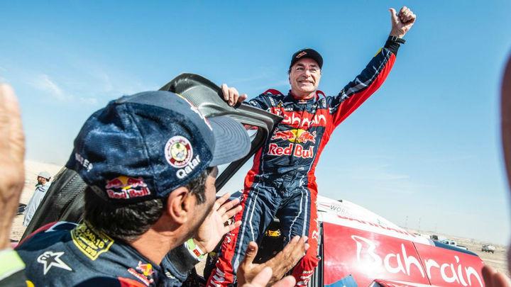 """Carlos Sainz: """"Estoy muy feliz, ha sido un rally muy, muy difícil"""""""