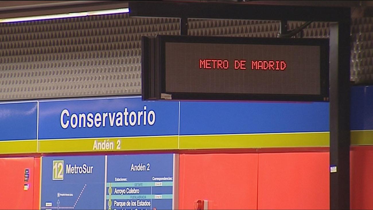 Metro inspeccionará Metrosur en Getafe entre Alonso de Mendoza y Conservatorio