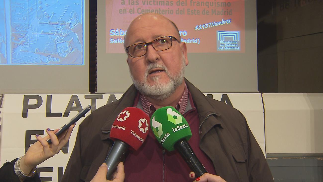 Reclaman la reposición del Memorial de las víctimas del franquismo en la Almudena