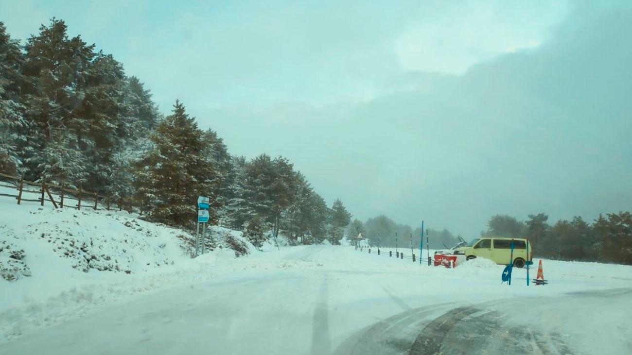 Nieve en  Cotos