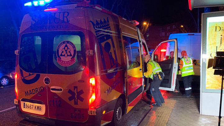 Muere un chico de 23 años por heridas de arma blanca en Madrid