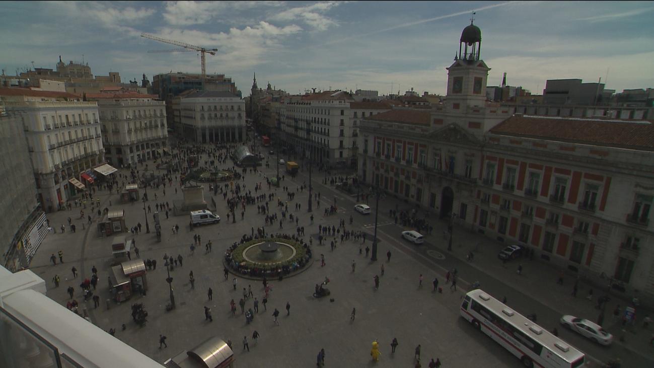 El Ayuntamiento de Madrid presenta este lunes el proyecto de peatonalización de la Puerta del Sol
