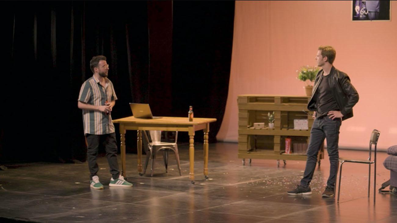 El humor salvaje de 'La Gran Ofensa' en el teatro Lara