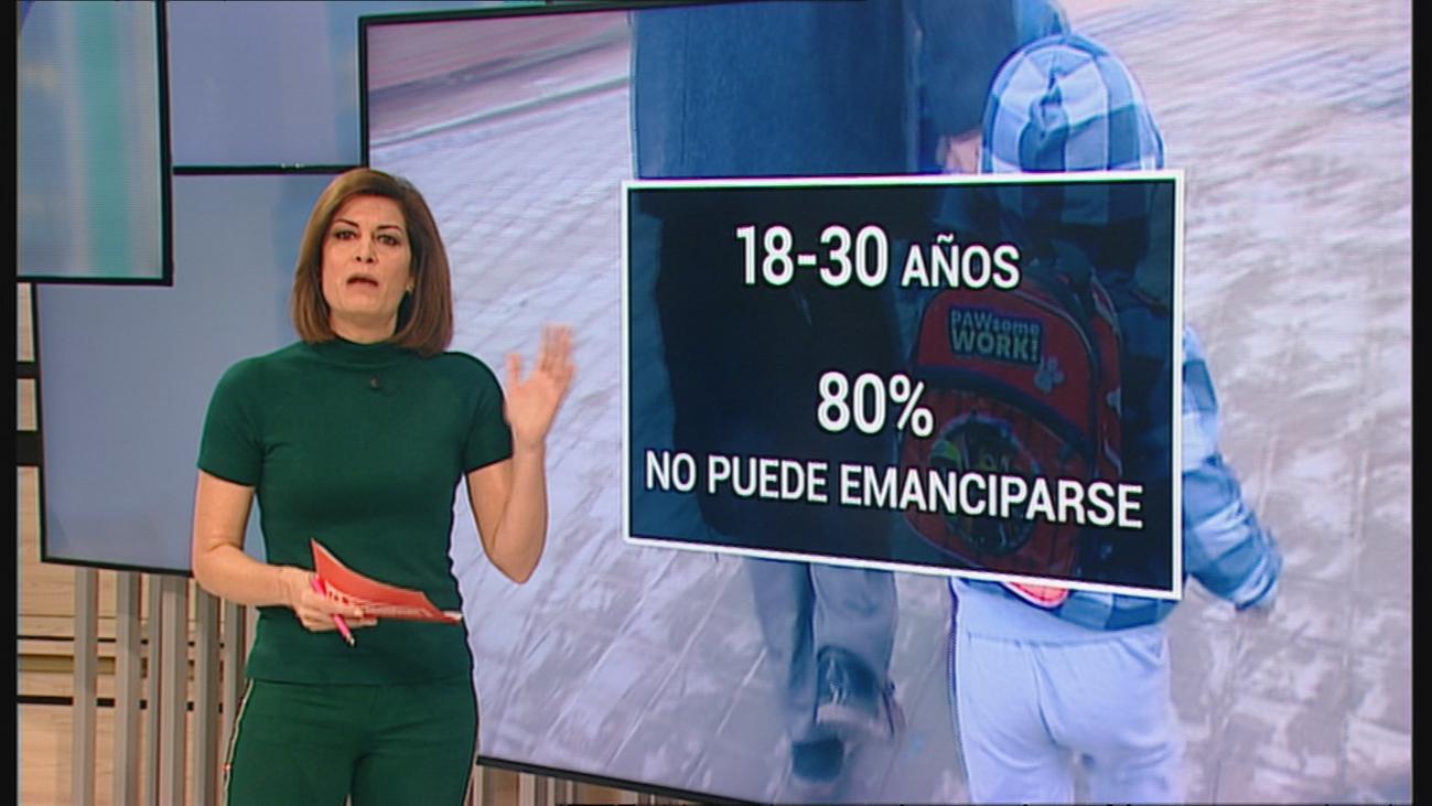 Solo un 20% de los jóvenes madrileños pueden emanciparse