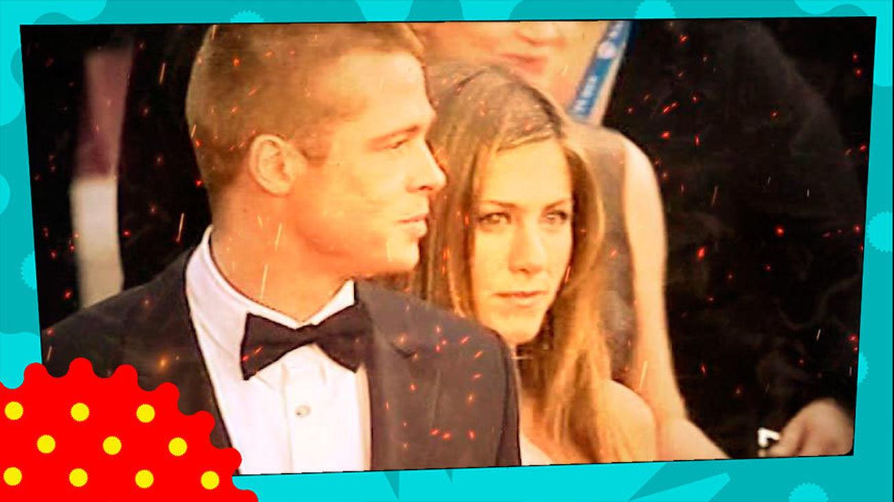 Brad Pitt y Jennifer Aniston, un reencuentro de 'cine'