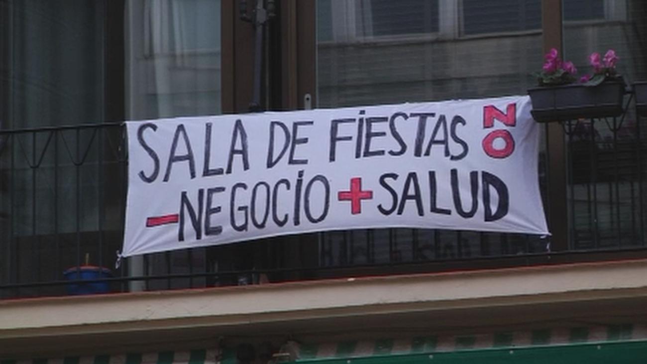 Los vecinos de Goya, en pie de guerra contra un nuevo  bar de copas