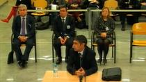 """Trapero asegura en el juicio que no tenía una """"relación estrecha"""" con Puigdemont"""