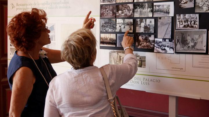Boadilla homenajea a las 'niñas del Palacio', que lo habitaron entre 1944 y 1971