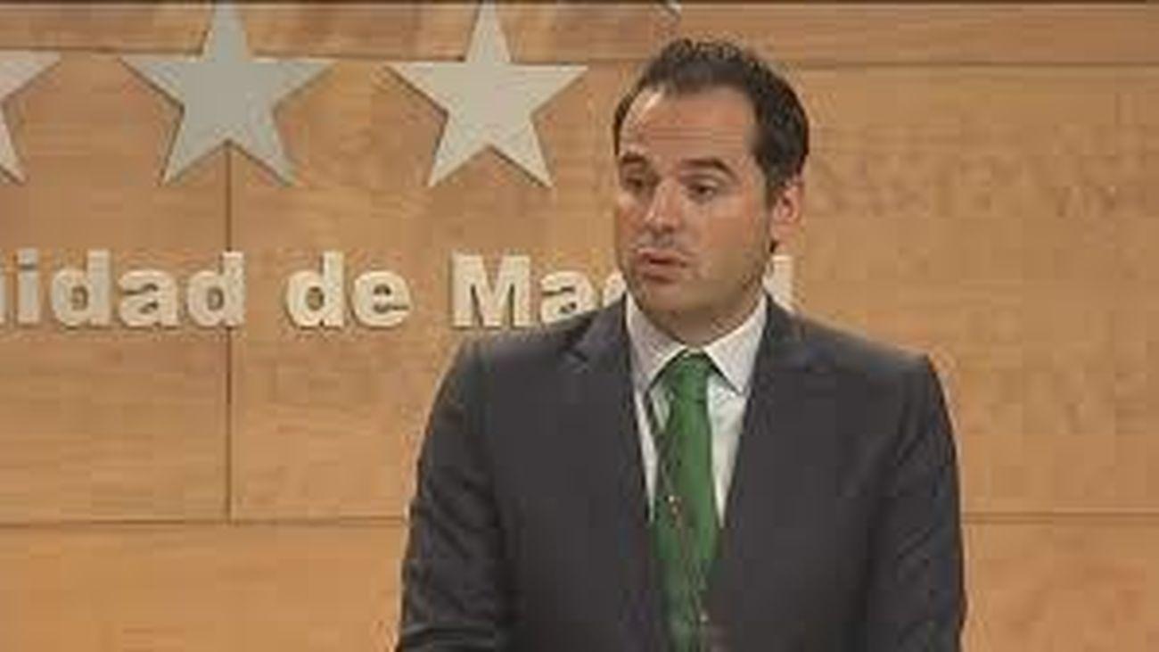 Ignacio Aguado, vicepresidente de la Comunidad de Madrid