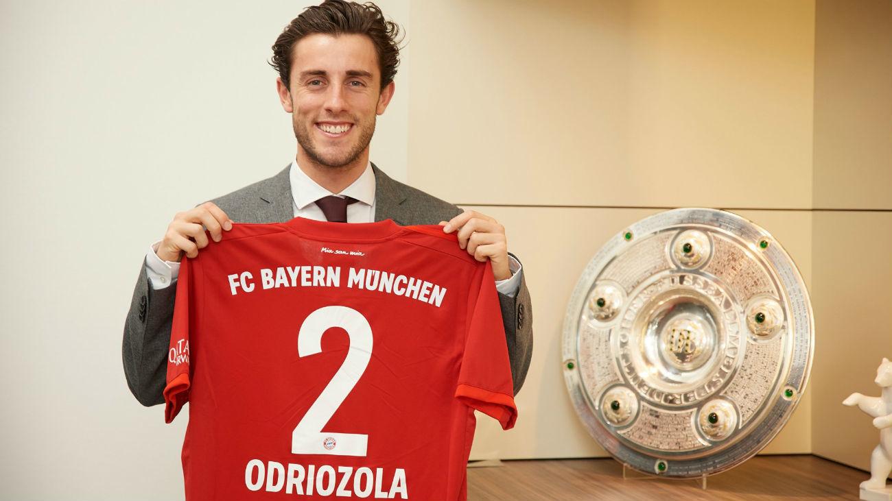 El Real Madrid cede a Odriozola al Bayern