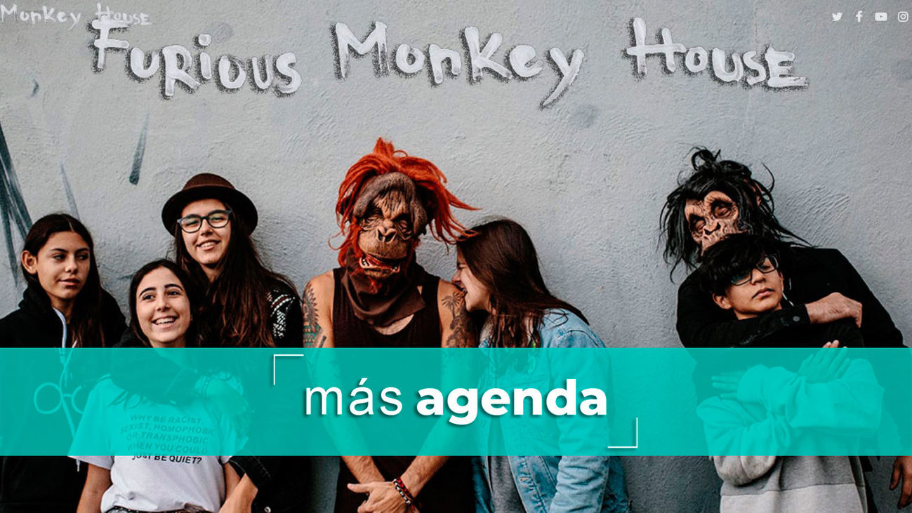 La agenda alternativa: Furious Monkey House, el grupo millenial por excelencia, ¡estará en Inverfest!
