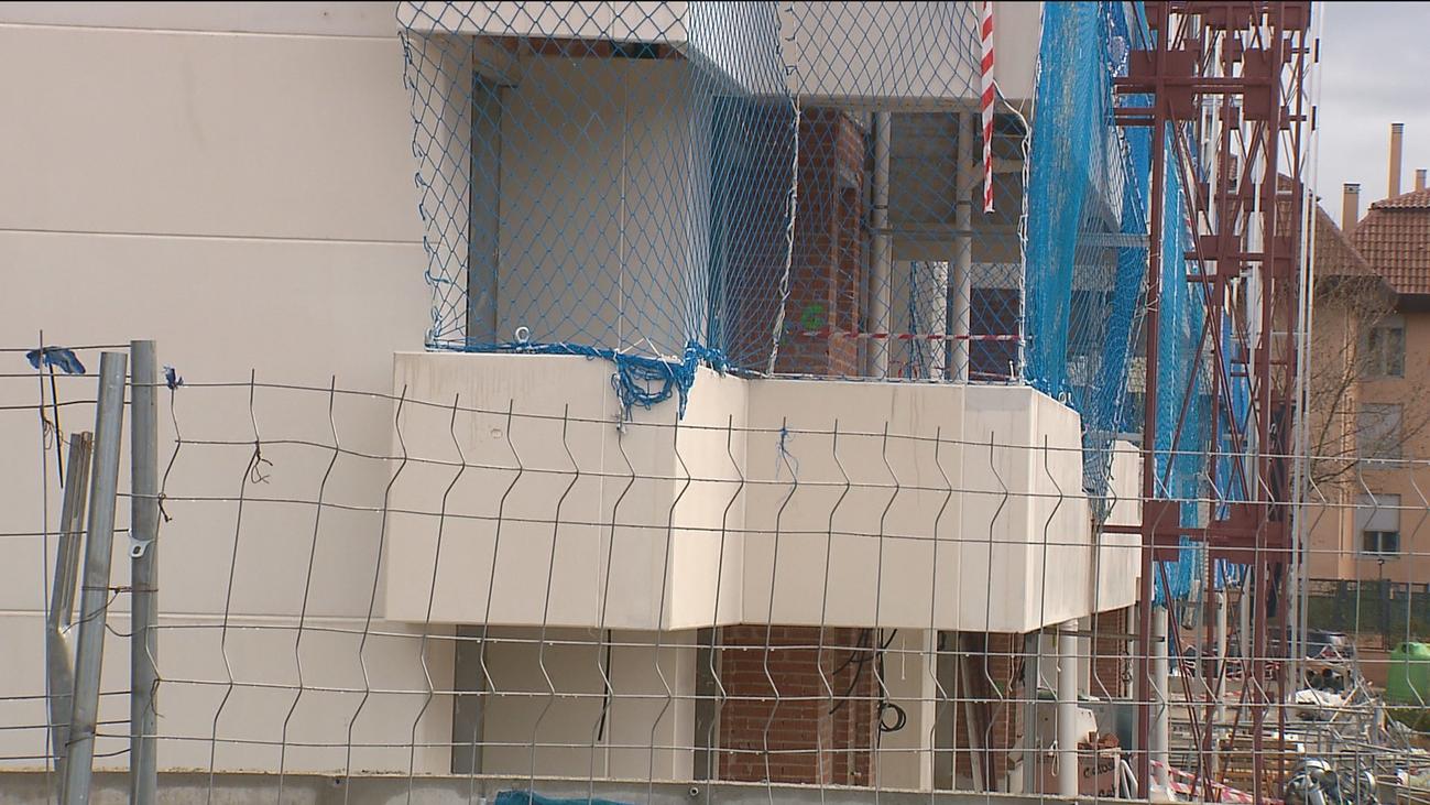 Frenazo a la construcción en España