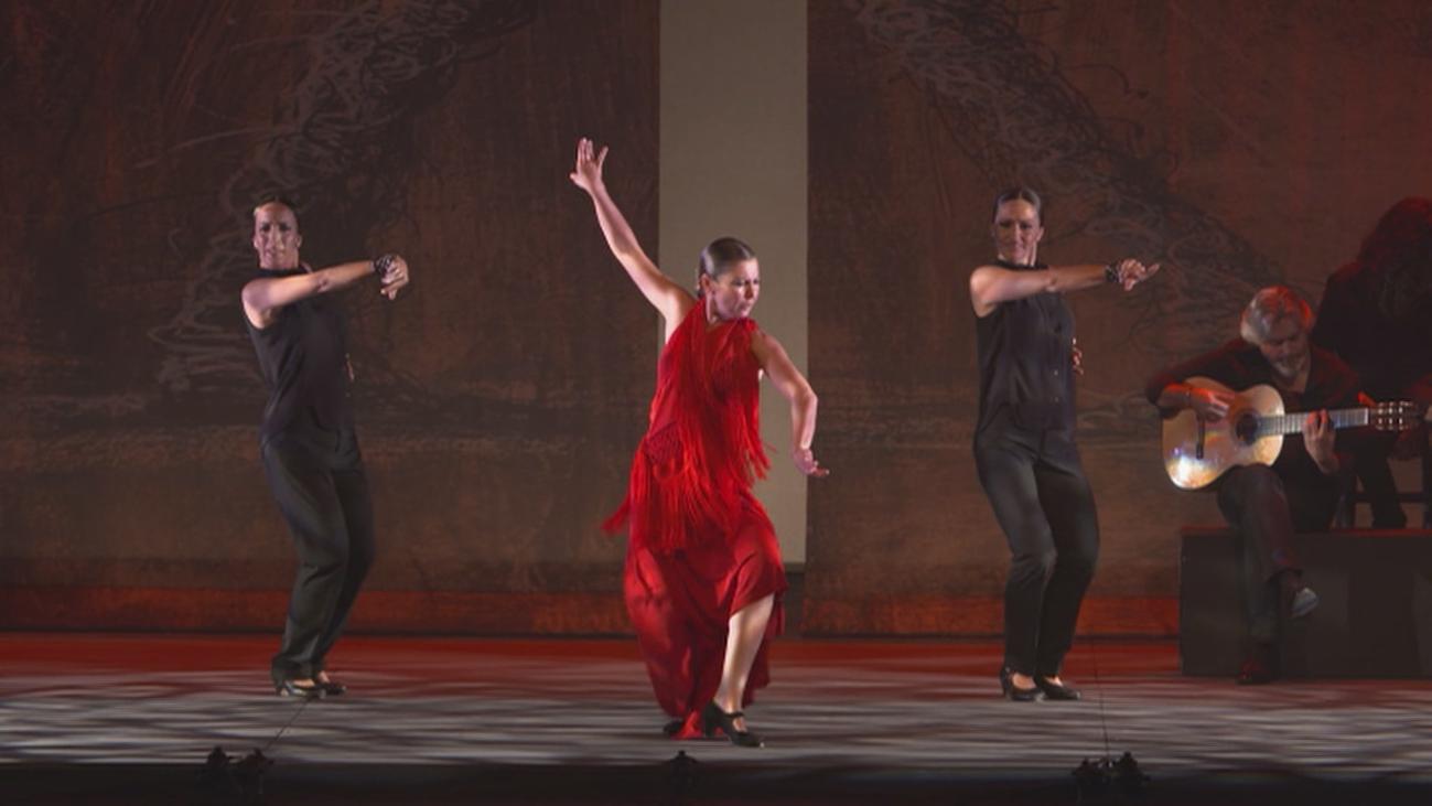 'Sombras',  la farruca de Sara Baras en el Teatro Nuevo Apolo
