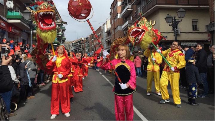 Cortes  de tráfico este domingo en Usera por el desfile del Año Nuevo Chino