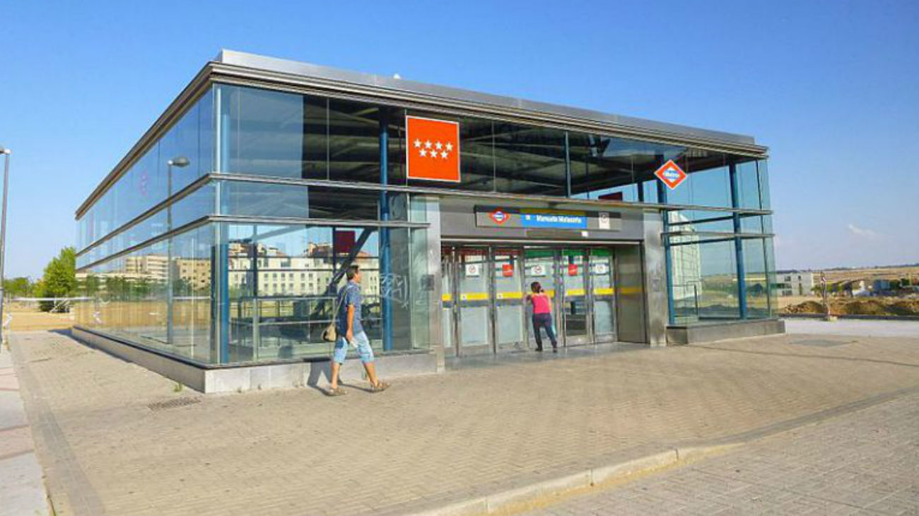 Estación de metrosur Manuel Malasaña