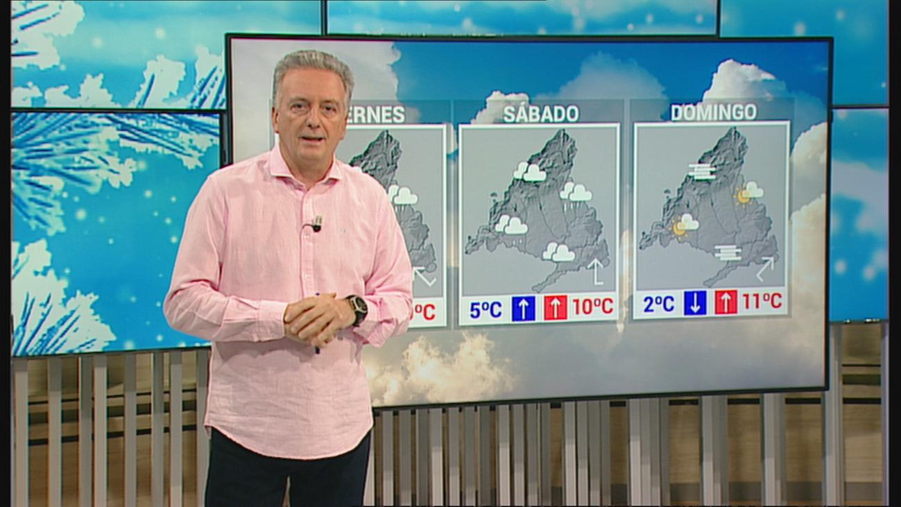 El frío invierno se mantiene en Madrid, con lluvia para este fin de semana