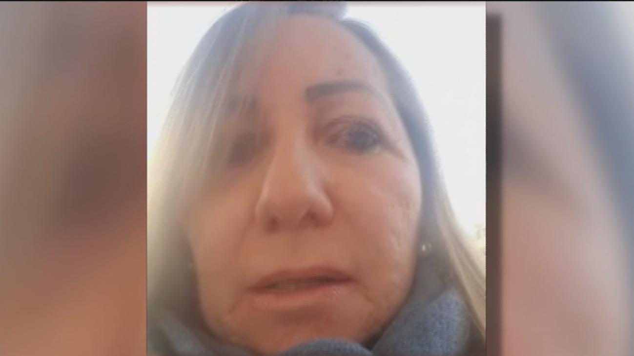 Mari Carmen pide ayuda en Telemadrid para encontrar su bolso robado en el centro comercial Las Rosas
