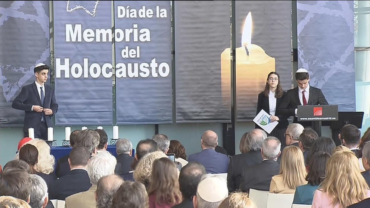 Madrid recuerda y honra a las víctimas del Holocausto y reafirma su compromiso con la libertad