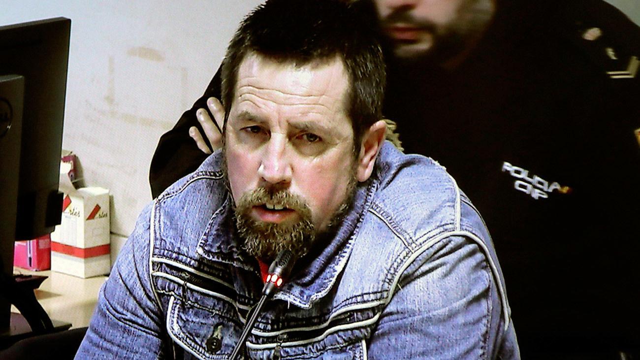 José Enrique Abuín Gey, alias 'El Chicle', durante el juicio por la violación y asesinato de Diana Quer