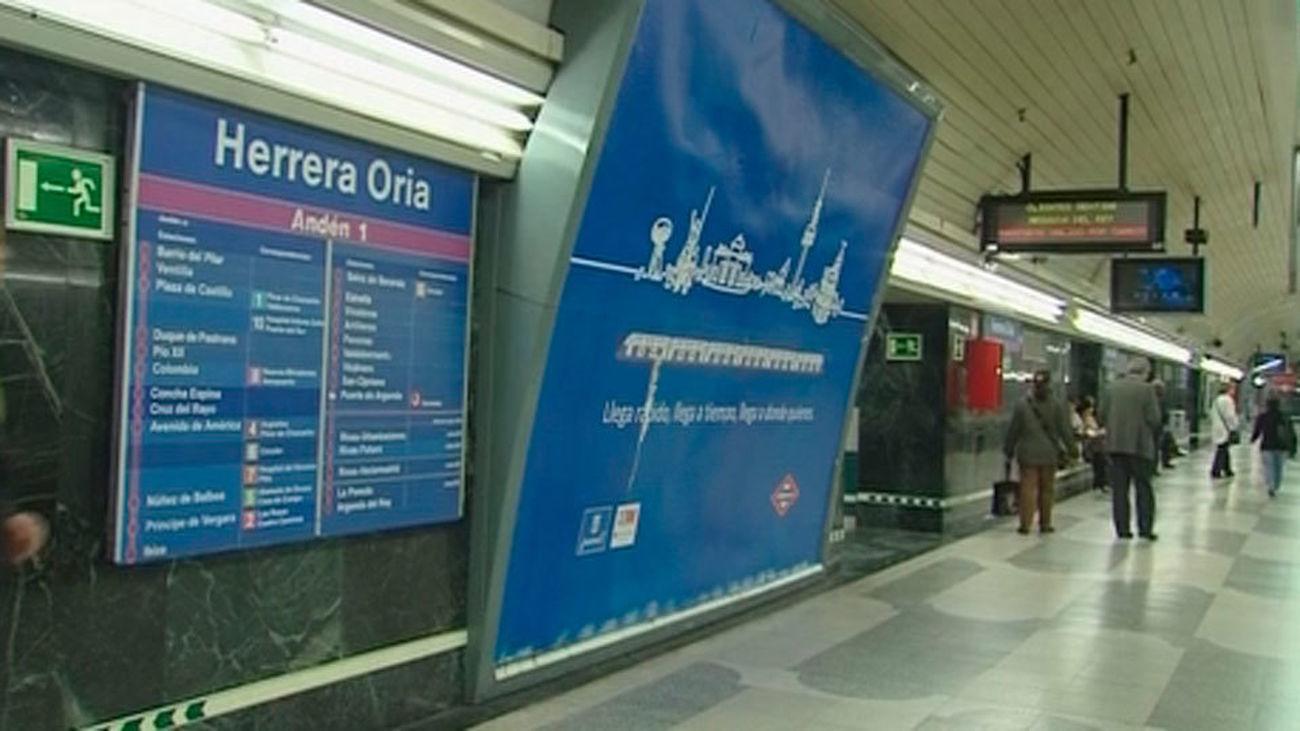 Estación de metro de Herrera Oria