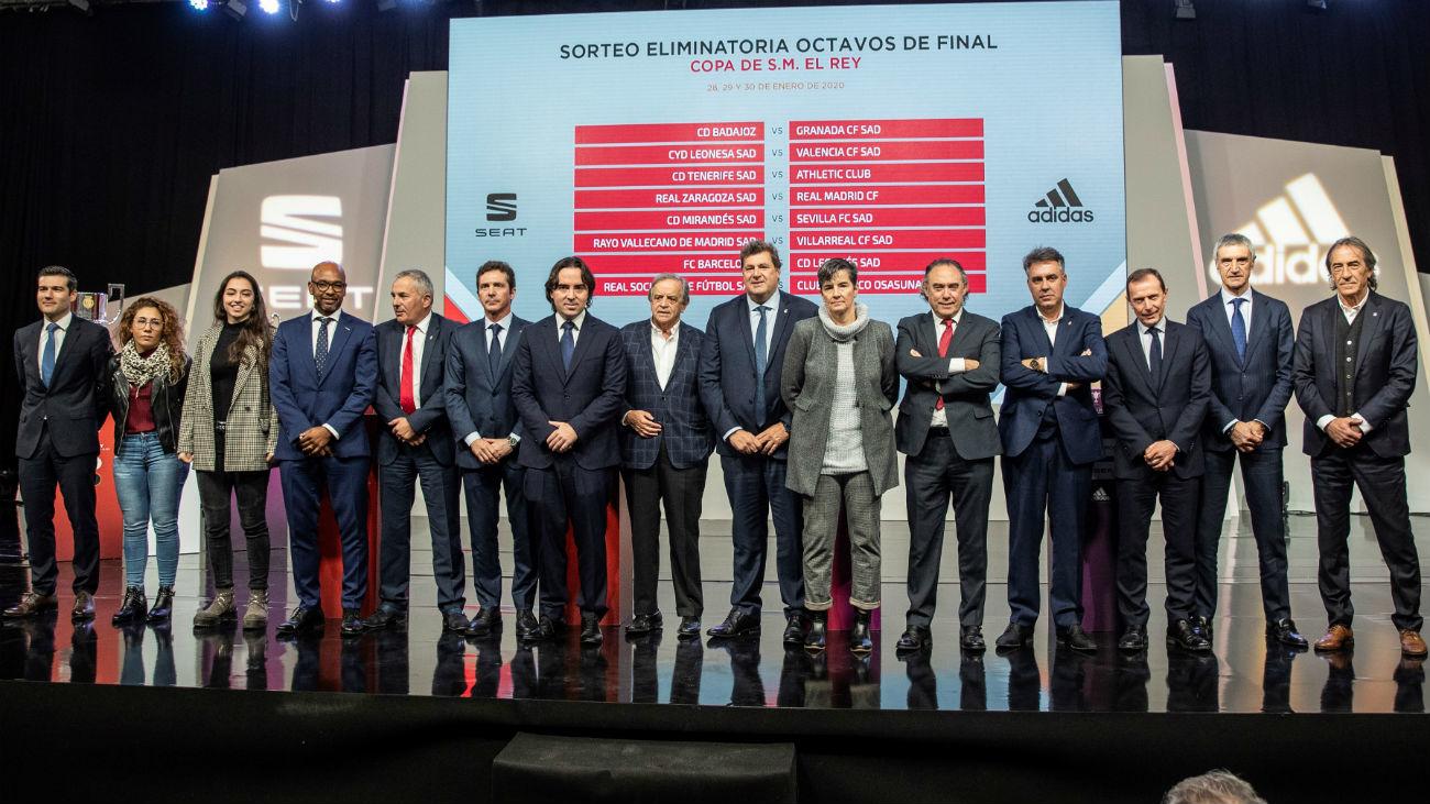 Real Madrid, Leganés y Rayo valoran un sorteo de Copa para todos los gustos