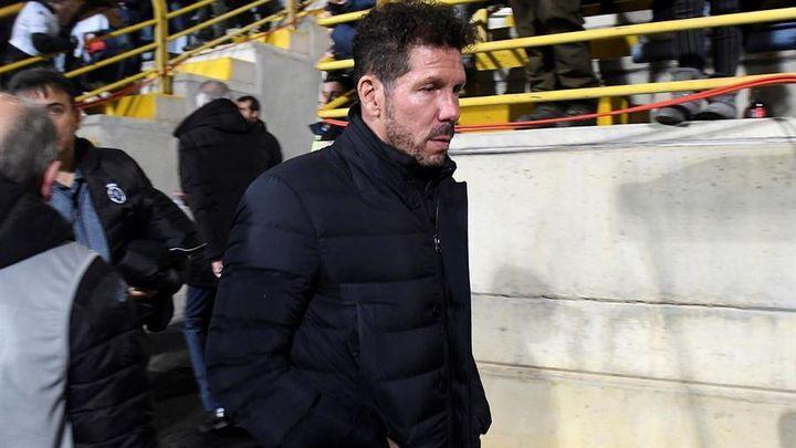"""Simeone: """"No supimos marcar, la responsabilidad es mía"""""""