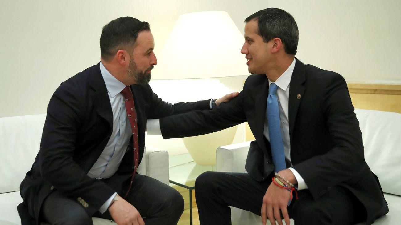 """Abascal muestra su """"vergüenza"""" a Guaidó por la reunión """"vergonzosa y clandestina"""" de Abalos"""