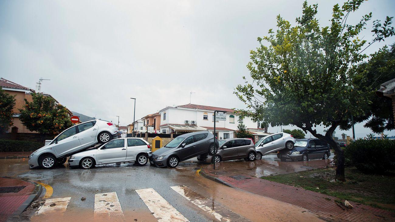 Málaga y Granada en alerta naranja por riesgo de importante de lluvias