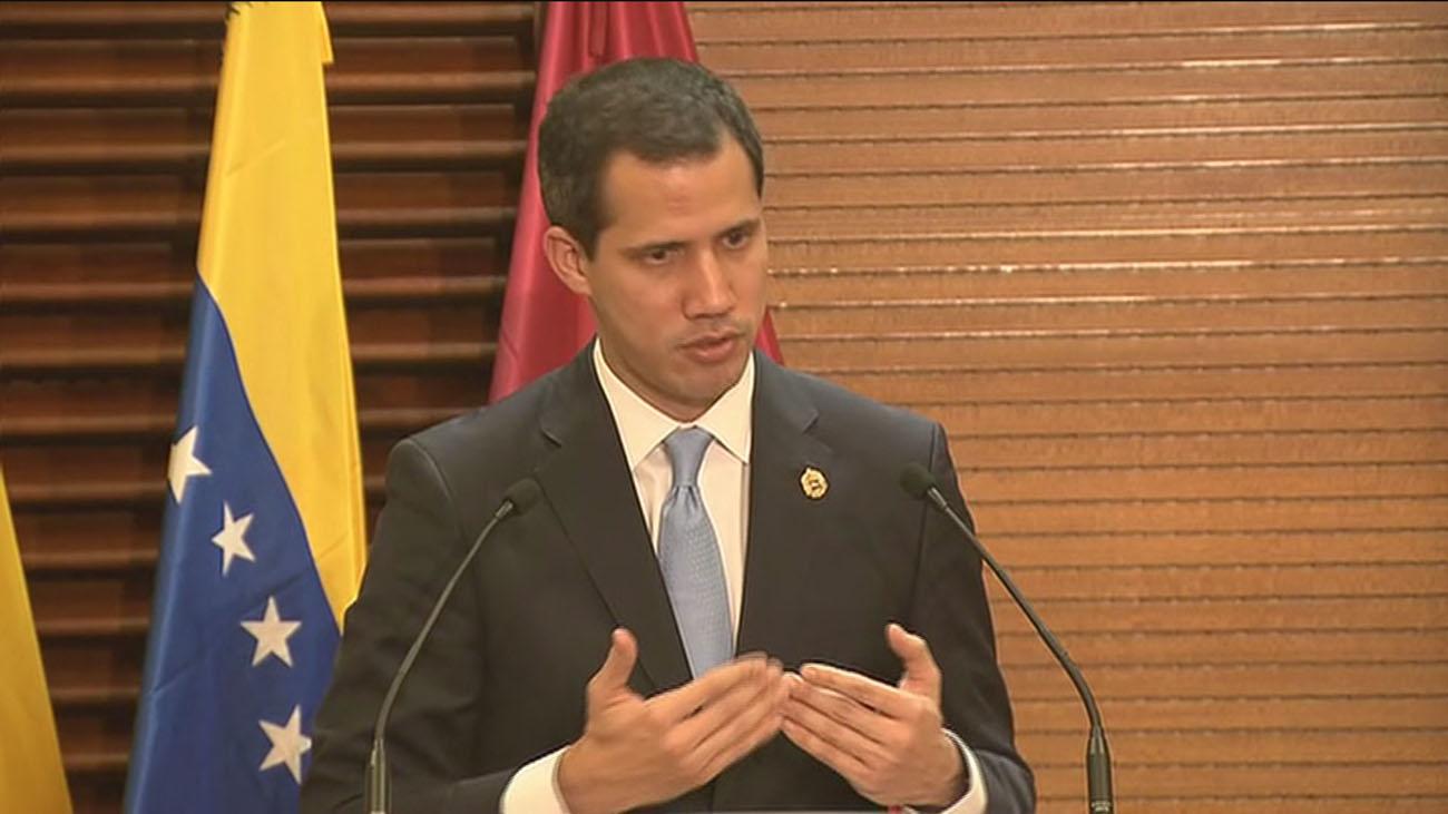 Guaidó espera reunirse con Sánchez en breve