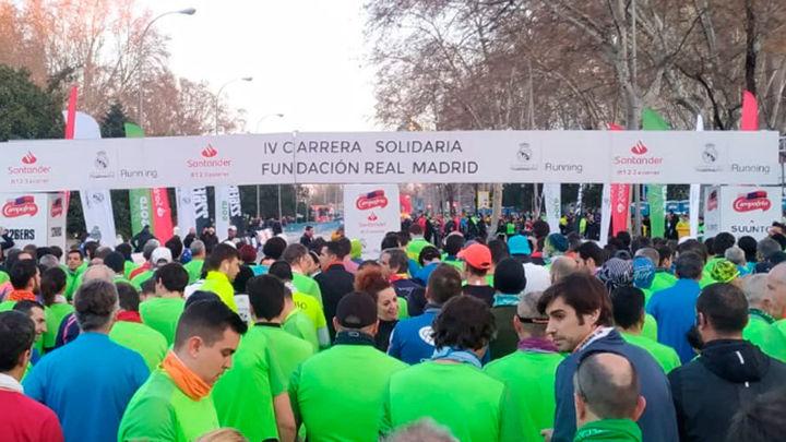 Más de 5.000 personas participan en la carrera solidaria del Real Madrid