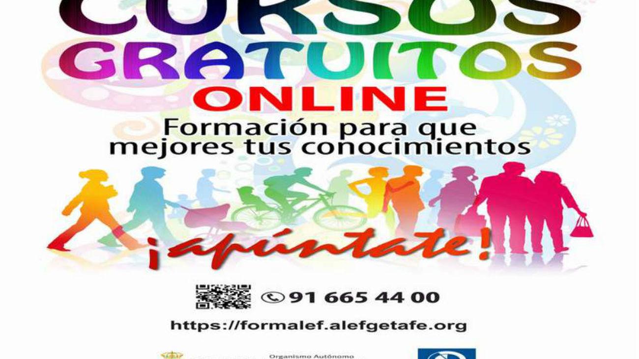 Cursos gratuitos para trabajadores en la Escuela Virtual del Ayuntamiento de Getafe