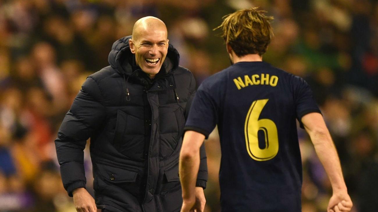 0-1. Nacho hace líder al Real Madrid en Valladolid