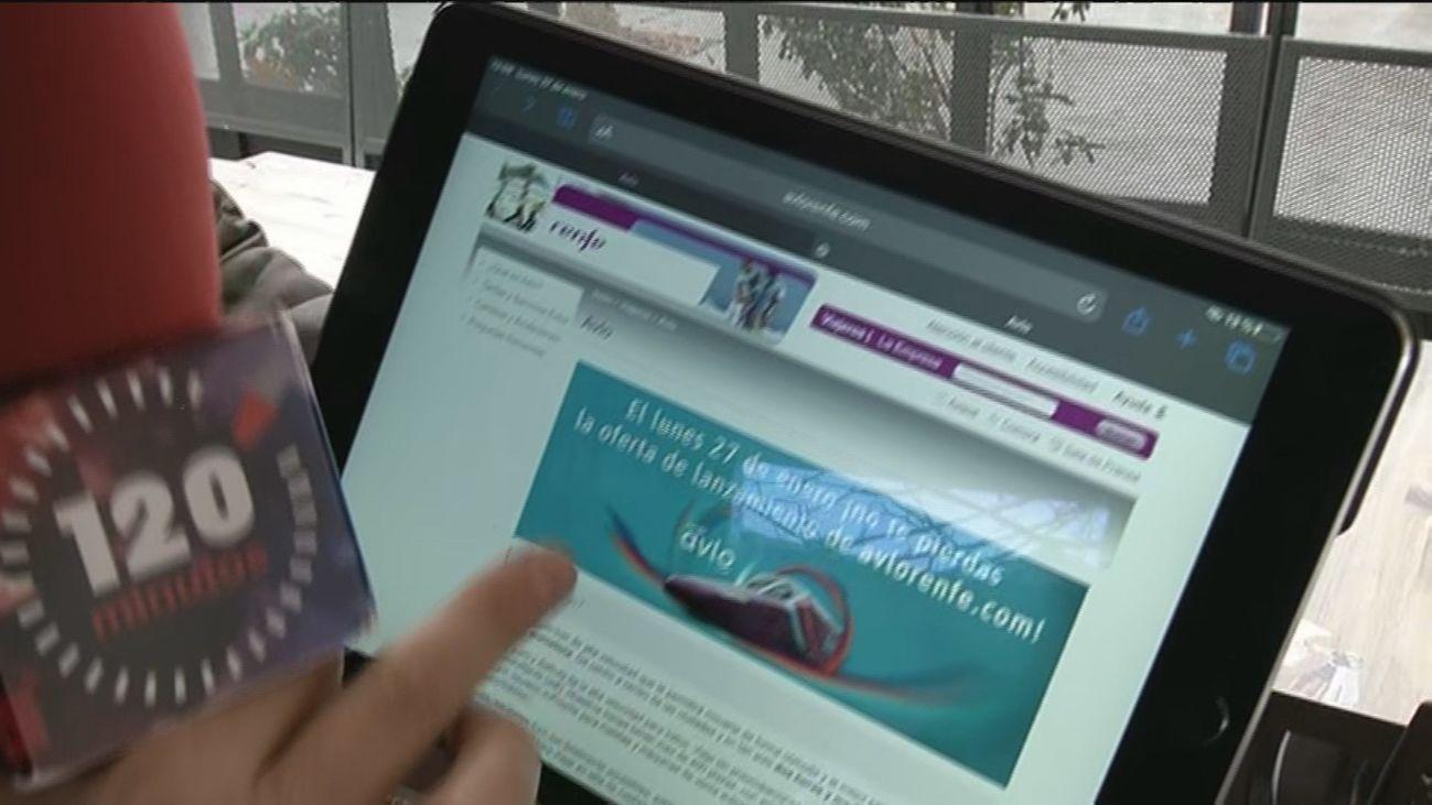 Colapso en la web de Renfe para intentar acceder a un billete del AVE low cost