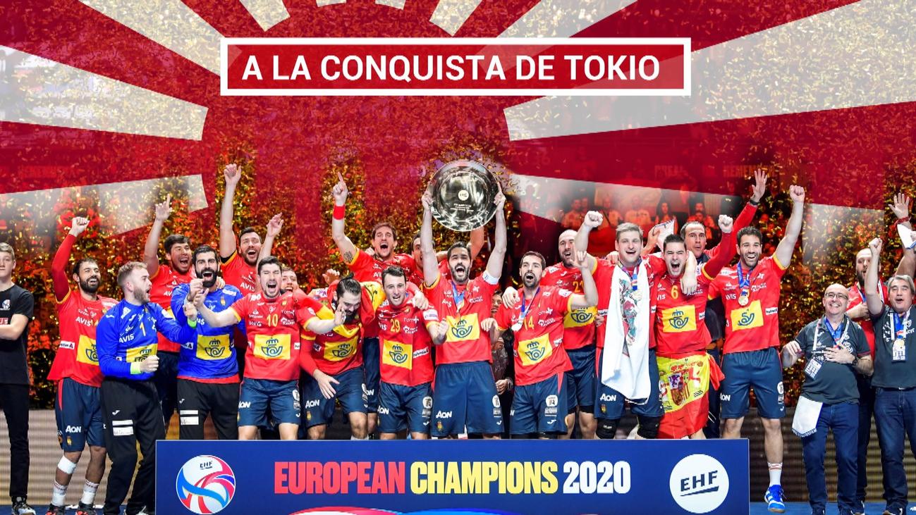 La selección española de balonmano arrasa en Europa