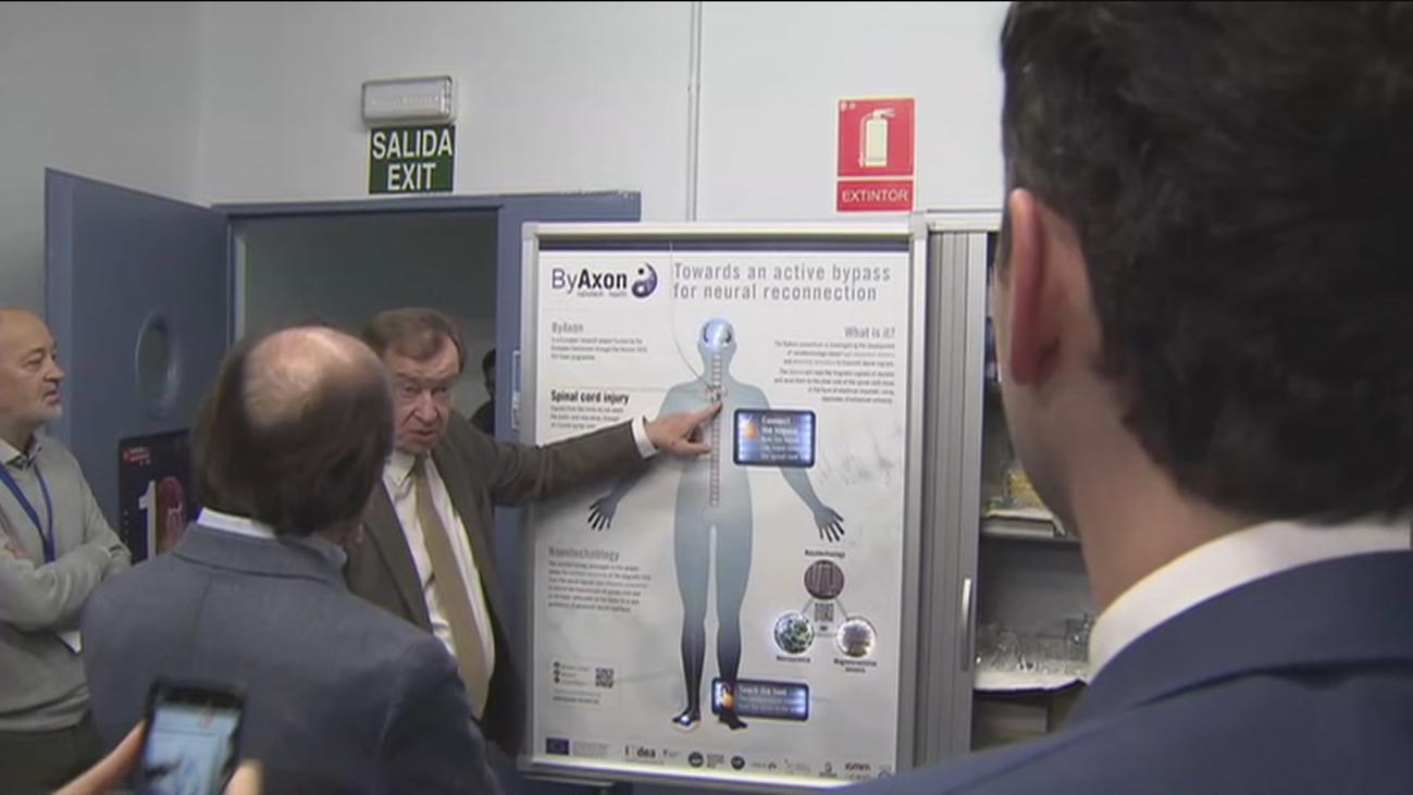 Madrid lidera la investigación de un bypass para lesiones medulares