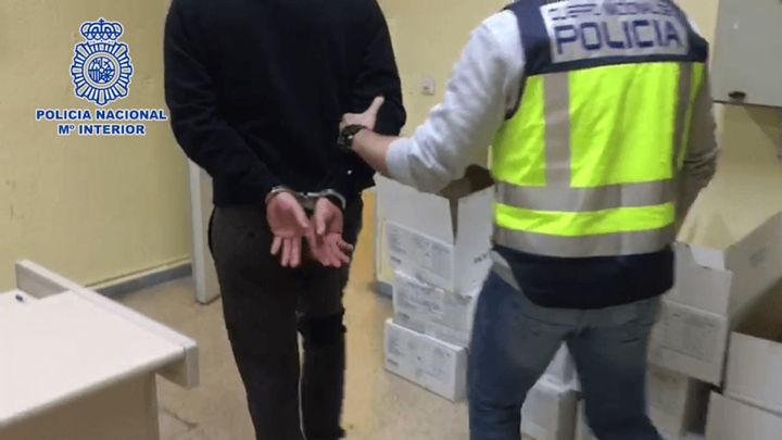 Detenido un ladrón tras una larga persecución que acabó en choque contra un bus