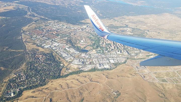 Aena medirá el ruido que causan los aviones en la zona norte de Tres Cantos